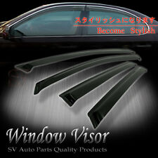 Fit 99-05 VW JETTA A4 Mk4 SMOKE TINT WINDOW VISOR SHADE VENT WIND RAIN DEFLECTOR