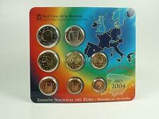 *** EURO KMS SPANIEN 2004 BU Spain Espana Kursmünzensatz Coin Set Münzen ***