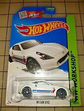 Hot Wheels Nissan 370 Z White HW Workshop