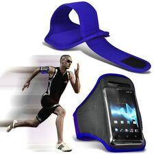 Fundas y carcasas brazaletes color principal azul para teléfonos móviles y PDAs Sony