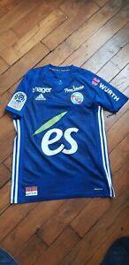 RC Strasbourg Home Jersey 2018-2019 Ligue 1 size S