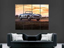 MERCEDES 300 SL Vintage classic car GIGANTE muro POSTER PICTURE PRINT GRANDE ENORME