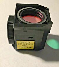 Nikon Dftr Sbx Triple Fluorescence Filter For Te Microscopes Missing Exciter