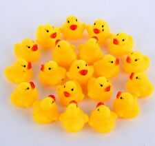 10pcs Set Mini Rubber Ducks Baby Bath Toys kids Birthday Gift Water Fun Floating
