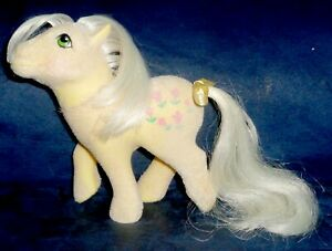 Rose: My Little Pony Vintage So Soft SS Posey VERY GOOD faded hair G1