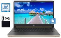 "2019 Newest HP 14"" Touchscreen Intel Core i3-8145U 2.1GHz, 8GB, 128GB SSD Win 10"