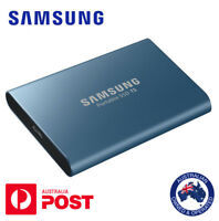 NEW Samsung Portable SSD T5 External SSD 250GB USB Type-C Free P&H within AUS