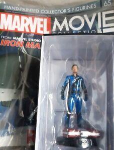 Marvel Movie Collection #65 Tony Strong Figurine (Iron Man) Eaglemoss English