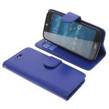 Tasche für Acer Liquid Jade Z Book-Style Schutz Hülle Handytasche Buch Blau