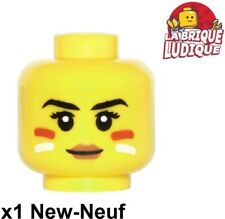 Lego 1x minifig tête head femme woman Face Paint indienne Tribal 3626cpb1499 NEW