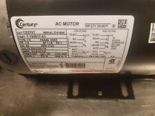 Century 1 HP Electric Motor  Cat C523V1 Part No.  7-193917-01  Frame K56Z 1725RP