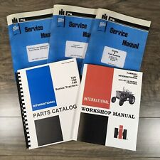 Farmall International 100 130 140 Tractor Service Manual Parts Catalog Shop Book