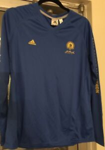 Boston Marathon Shirt 2008 Adidas ClimaCool Long Sleeve Running Women XL NWT!