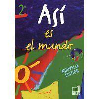 MONTAIGU  REYNALD - Espagnol Asi es el mundo 2e (1CD audio) - 2005 - Broché