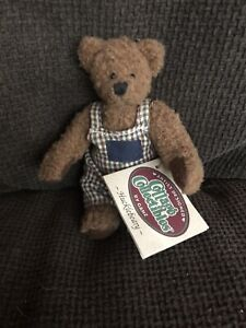Ganz cottage collectibles hucklebeary brown bear plush