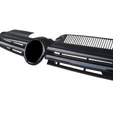 For Volkswagen Golf 6/R20 09-13 Black Grille Crossband Horizontal Stripe Grid