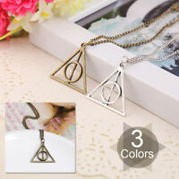 Fashion Free Ship Hot Movie Harry Potter Deathly Hallows Alloy Necklace Pendant