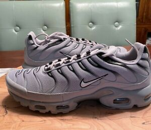 """NEW WITHOUT BOX Nike Air Max Plus """"Wolf Grey"""" (2019) Men's 852630 021 Size 13"""
