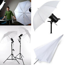 "33"" White Photography Pro Studio Reflector Translucent White Diffuser Umbrella"