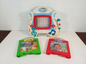 2002 Mattel LEARN THROUGH MUSIC Touchscreen Educational Kids Toy 2 Games LOT