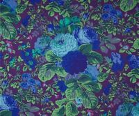 GRADI FLORA by Philip Jacobs~ Kaffe Fassett~ Large Floral ~Fabric~ per 1/2 yard