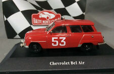 Rallye Monte-Carlo Atlas 1/43 Chevrolet Bel Air #53 Red