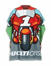 Ducati Corse Cartoon Bademantel Kinder Badeponcho Kids Bathrobe
