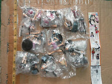 Takara Tomy SR K-On girl part 3 mini figure gashapon 8 pcs Yui Mio Ritsu Tsumugi