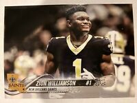 Zion Williamson Saints Jersey Rookie Card - Welcome to New Orleans
