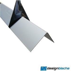 Aluminium eloxiert Metallwinkel L-Profil Aluleisten 1mm Leiste Alu kantenschutz