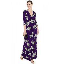 Diane Von Furstenberg Abigail Maxi Wrap Dress Size 6