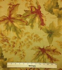 """WAVERLY ASPEN FALLS TEA STAIN MICROSUEDE FLORAL MULTIUSE FABRIC 4.25 YARDS 54""""W"""