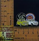 BMC & Leyland Mini Cooper S Yellow & White Quality Metal Lapel Pin / Badge