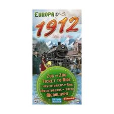 TICKET TO RIDE EUROPA 1912 - Gioco da tavolo Base italiano Asterion Asmodee