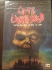 City Of The Living Dead (DVD, 1980) LUCIO FULCI COLLECTION Brand New