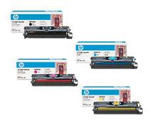 4 GENUINE HP TONERS Q3960A Q3961A Q3962A Q3963A 2550 2820 2840 2550L FASTPOSTAGE