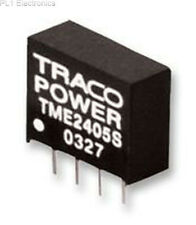 TRACOPOWER - TME 2405S - CONVERTER, DC/DC, 1W, 5V/0.2A