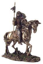 7 Inch Mandan Indian Chief Figure Statue American Warrior Indio Figurine Native