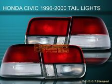 96-99 00 HONDA CIVIC LX/EX/SI 2D/2DR RC OEM TAIL LIGHTS