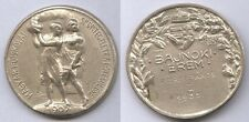 Orig.medal   Hungary Rowing Championships 1938 // 2.Place Double  !!  VERY RARE