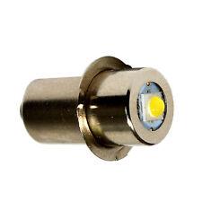 HQRP High Power 100LM 3W LED Ersatzbirne für Ryobi Ridgid 7811502 Taschenlampe