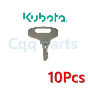 10pcs 55240 Key For Broce GEHL Kubota Tennant Allmand Thomas models