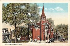 Ohio postcard Logan, M.E. Church