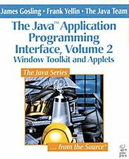 Window Toolkit and Applets (The Java(TM) Application Programming Interface,