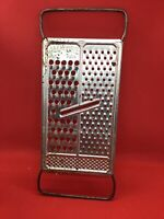 Vintage All-in-One Cheese Vegetable Grater Slicer Stainless Steel