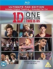 One Direction: This Is Us (Blu-ray + UV Copy) [2013] [Region B & C], New DVD, Ha