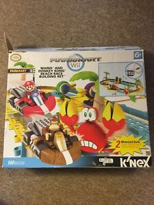 Mariokart Wii Knex Mario and Donkey Kong Beach Race Building Set VERY RARE