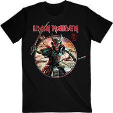 Iron Maiden 'Senjutsu Eddie Warrior Circle' (Black) T-Shirt - NEW & OFFICIAL!
