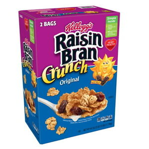 Kellogg's Original Raisin Bran Crunch Breakfast Cereal (42 oz) GREAT DEAL!