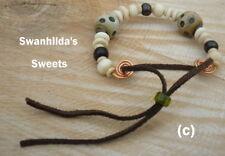 LARP Viking Handcrafted Unique enfant/Petites Perles Bracelet/Bras-Ring swsw